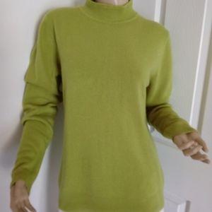 Sag Harbor mock neck sweater
